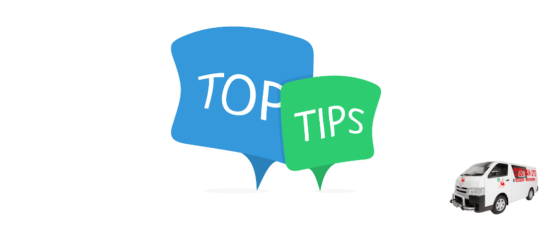 top tips van hire