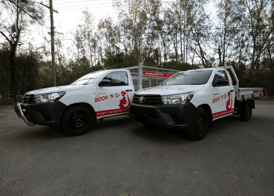 cage and no cage ute hires