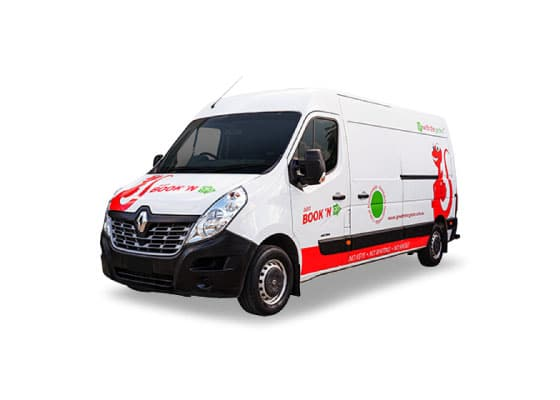 2t van one way hire