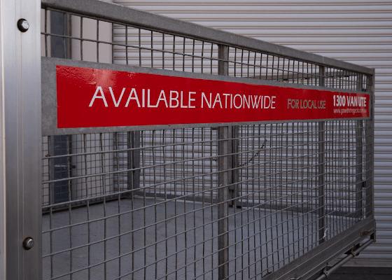 ute cage hire