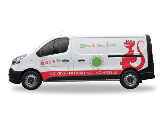 1t van hire side